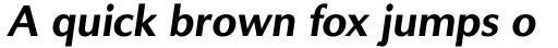 Solaire DT Bold Oblique sample