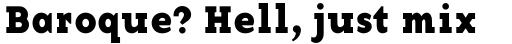 Base 12 Serif Bold sample