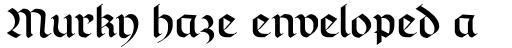 Richmond Fraktur DFR sample