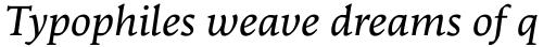 Goodchild Italic sample