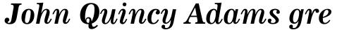 News 705 Bold Italic sample