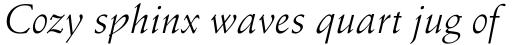 Schneidler Italic sample