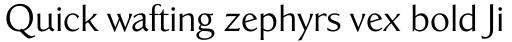 California Sans sample