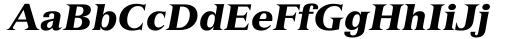 Font: Versailles 96 Black Italic