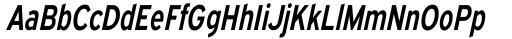 Expressway Condensed Semi Bold Italic