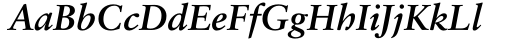 Sabon Bold Italic