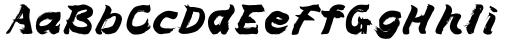 Brush Type Italic